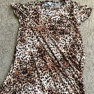 Super rare Cheetah print LuLaRoe Carly dress